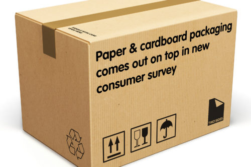 Paper & cardboard packaging comes out on top in new consumer survey