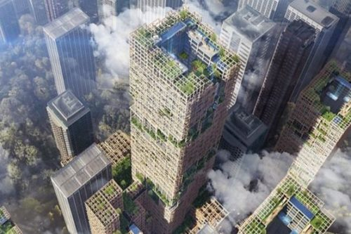 Plans drawn up for World's tallest Wooden Skyscraper