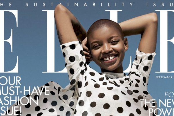 Tidningen ELLE dedikerar nummer till hållbarhet – trycker på återvunnet papper