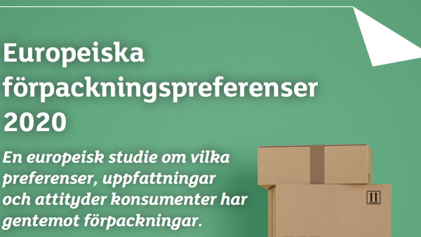 Konsumenten vill ha pappersbaserade förpackningar för dess hållbara egenskaper