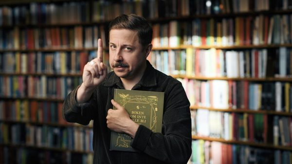 Komikern David Sundin släpper unik barnbok – endast i print