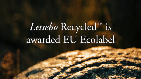 Lessebo Recycled awarded the EU Ecolabel