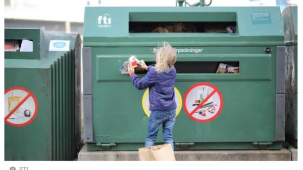 Sverige – ett av de bästa länderna på återvinning